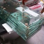 Glazen afdekplaatjes geleverd