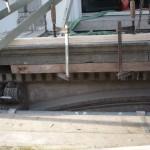 Gerestaureerde balkonplaat terugstellen