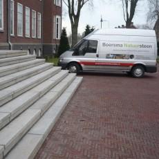 Trap oude gemeentehuis Alphen aan den Rijn (Burg. Visscherpark)
