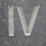 Romeinse cijfers in Belgisch Hardsteen
